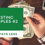 Investing Principles #2: Cash Pays Less
