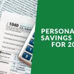 Personal Tax Savings Ideas 2019