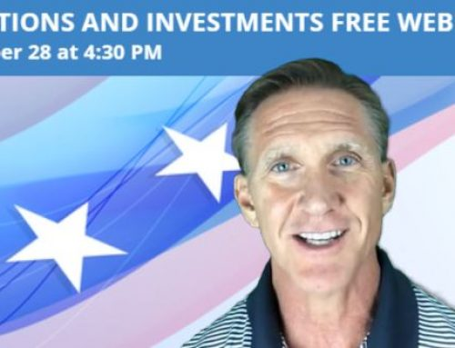 Join us Tomorrow!  Don't miss our  Elections and Investments Webinar at 4:30 PM