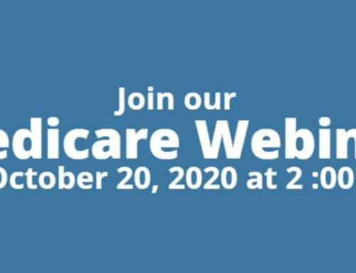 Medicare Webinar October 20 at 2:00 PM