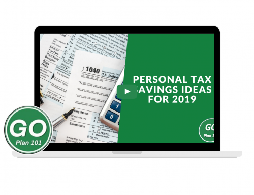 Personal Tax Savings Ideas 2019